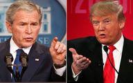 انتقاد بوش از ترامپ