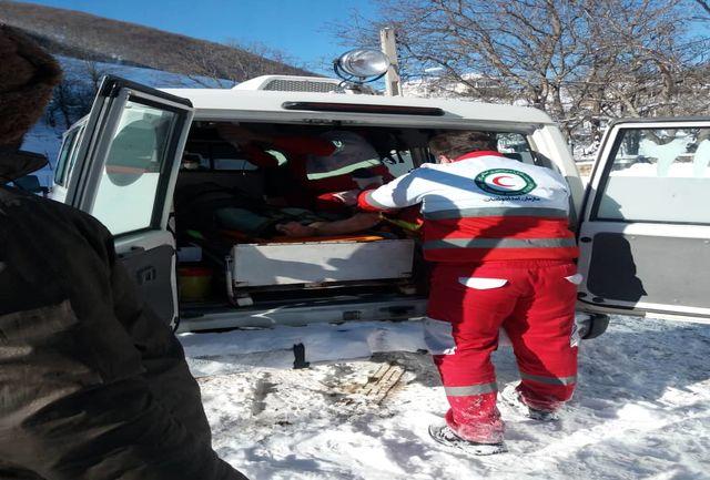 عملیات نفس گیر انتقال دومین بیمار ۶۴ ساله اهل شیرکده بخش رحمت آباد