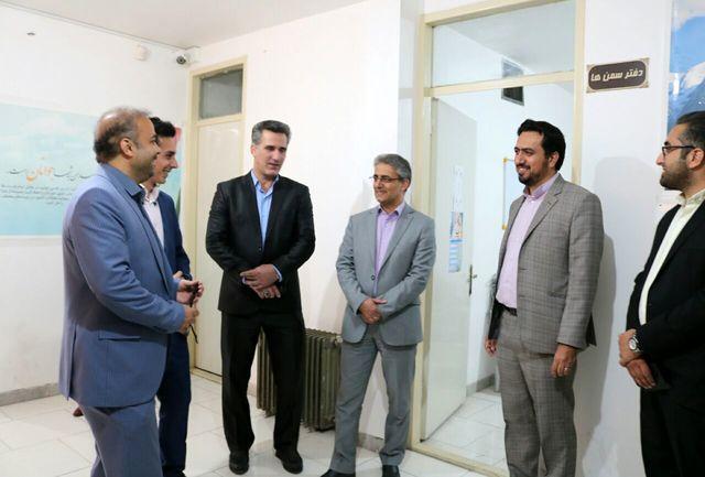 بازدید مدیران استانی از برنامه های خانه جوانان سمنان