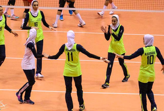 چهار والیبالیست استان اصفهان در تیم ملی والیبال بانوان ایران