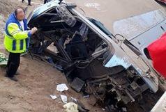 اسامی مصدومان واژگونی اتوبوس زائران اصفهانی در لرستان