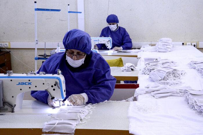 ۱۸ هزار ماسک در مراکز یادگیری محلی کهگیلویه و بویراحمد تولید شد