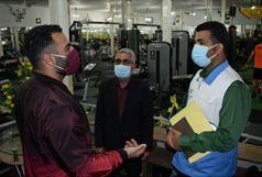 دو سالن ورزشی در شهرستان البرز پلمب شد