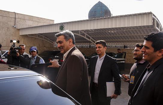 مراسم سوگند شهردار جدید تهران