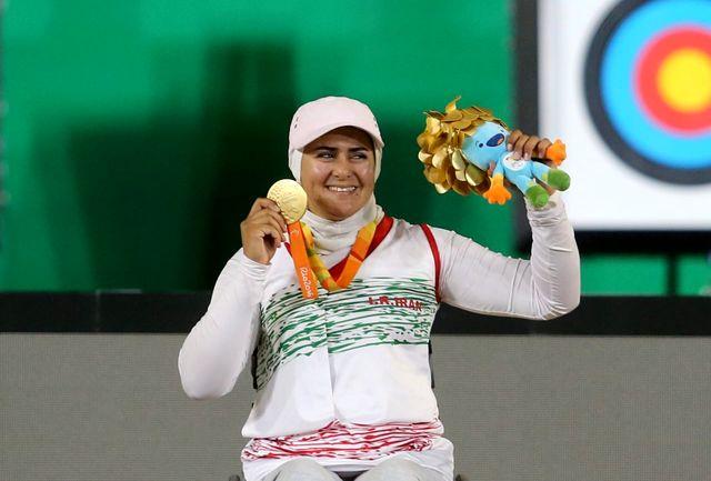 نعمتی بهترین ورزشکار ماه سپتامبر شد+عکس