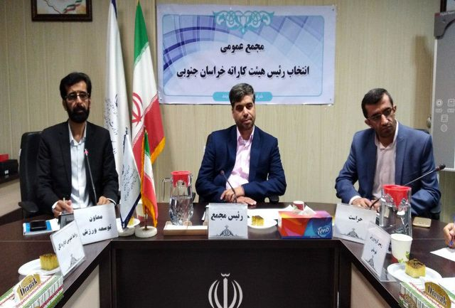 سرمایه گذاری در آموزش و پرورش اولویت هیئت کاراته / جایگاه کاراته  در شان استان نیست