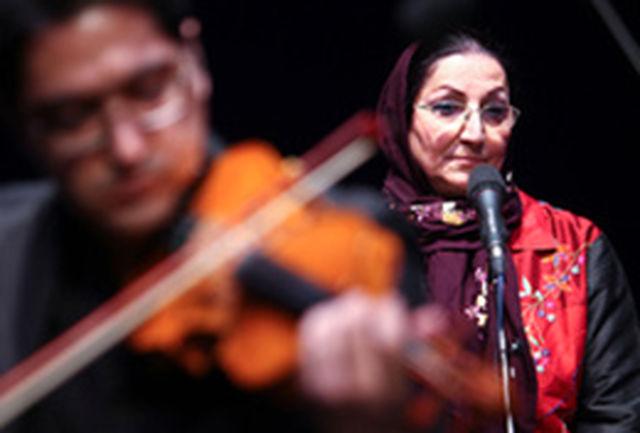 پری ملکی با «زمان که میگذرد» به تالار رودکی می آید