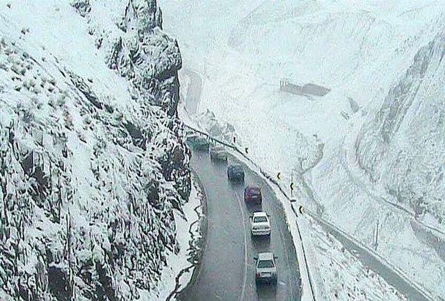 شدت گرفتن بارش برف و باران در استان