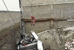 ریزش هولناک ساختمان مسکونی در مشهد
