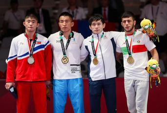مدال برنز رضا اطری / بازیهای آسیایی۲۰۱۸ جاکارتا