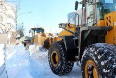 جابجایی بیش از ۲ هزار دستگاه کامیون برف در خلخال!