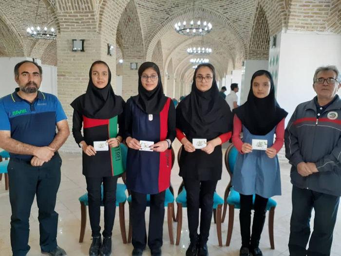 صدرنشینی دختران دارتر استان در مسابقات رنکینگ آزاد کشوری جوانان
