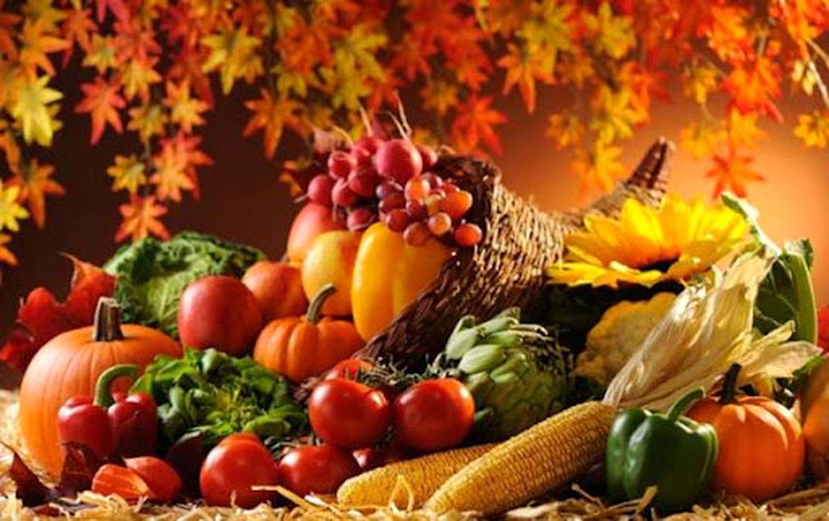 چند توصیه طلایی برای تغذیه سالم در پاییز