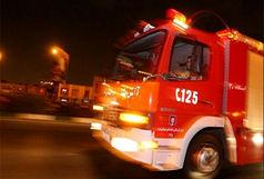 آتش سوزی در سینما هلال زاهدان