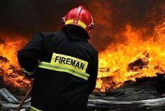 آتش سوزی در اوین
