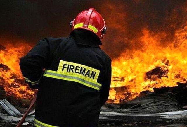 آتش سوزی در فرودگاه مهرآباد