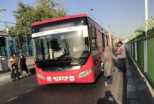 خطوط بی،آر،تی پایانه میدان راه آهن به خیابان معینی انتقال یافت