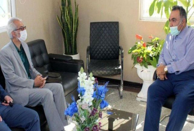 دیدار عیدانه رئیس کمیته امداد شهرستان پیشوا با شهردار جلیلآباد