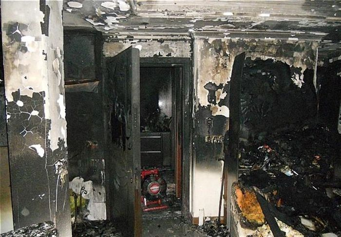 در آتش سوختن یک واحد مسکونی در بوشهر