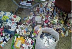 کشف بیش از ۱۴ هزار عدد انواع دارو و قرصهای قاچاق در مهرستان