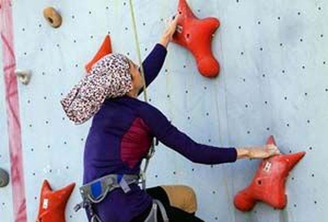 دختران سنگ نورد خراسانی 4 مدال کشوری کسب کردند