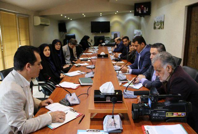 جلسه هم اندیشی روابط عمومی شهرداری های شرق گیلان در لاهیجان برگزار شد