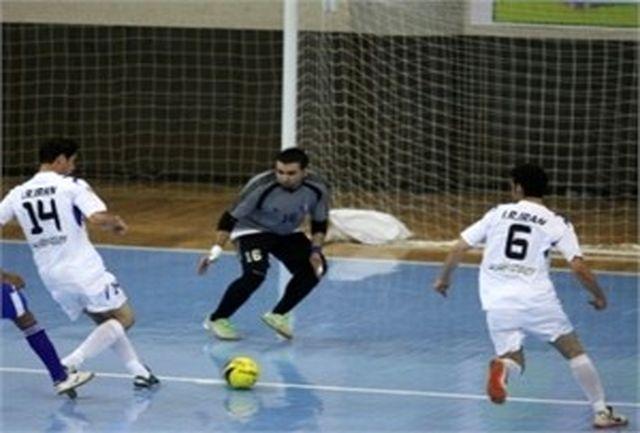 برگزاری مرحله پایانی لیگ برتر فوتسال امید در مشهد