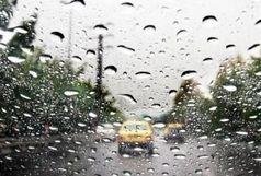 کاهش 2 درصدی تردد جاده ای و بارش باران در محورهای 7 استان کشور