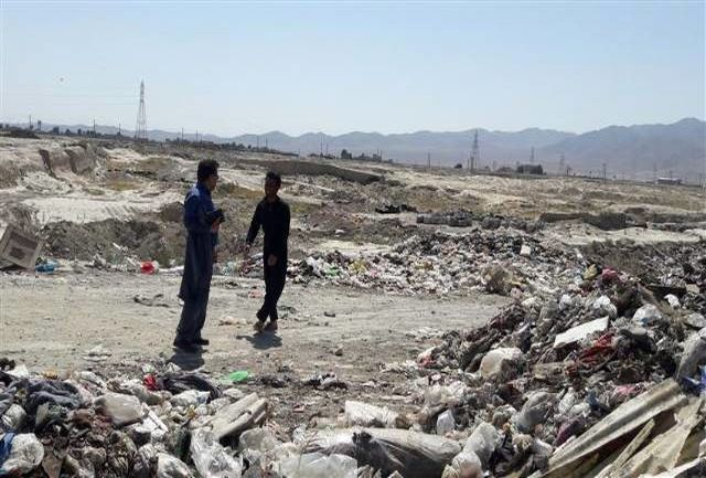 پیگیری رفع معضلات زیست محیطی ناشی از سکوی موقت زباله شهرماهدشت