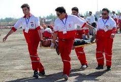 امدادگران هلال احمر زنجان با 5 کیلومتر پیاده روی بر بالین مصدوم ماهنشانی رسیدند