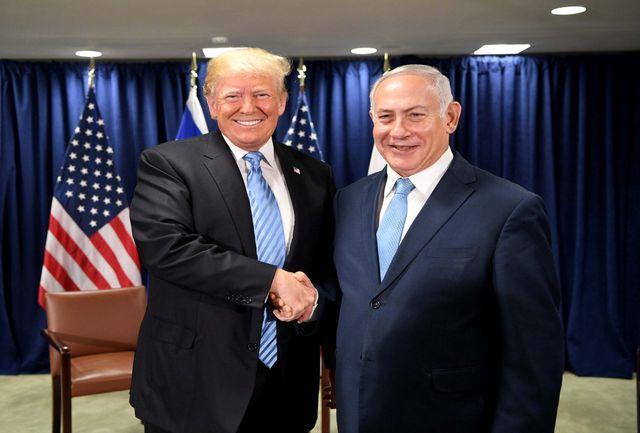 نتانیاهو هم به ترامپ پشت کرد!