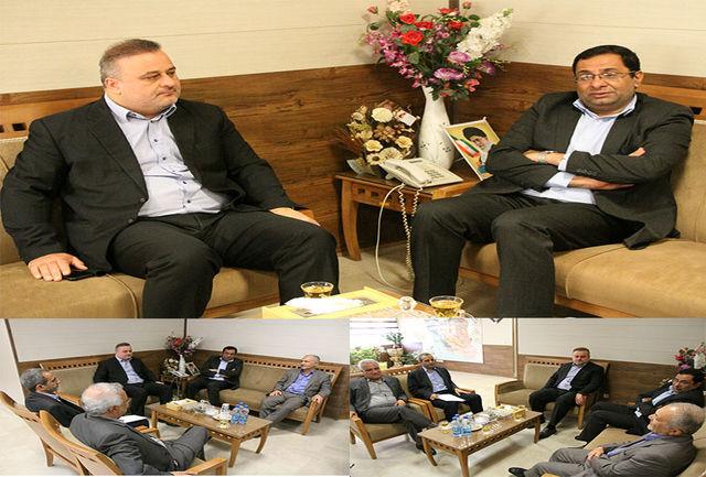 دیدار قائم مقام شیلات ایران با رئیس جهادکشاورزی هرمزگان