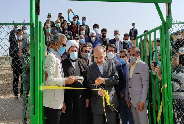 آیین افتتاح و بهره برداری از چمن استاندارد بزرگ شهر سرایان