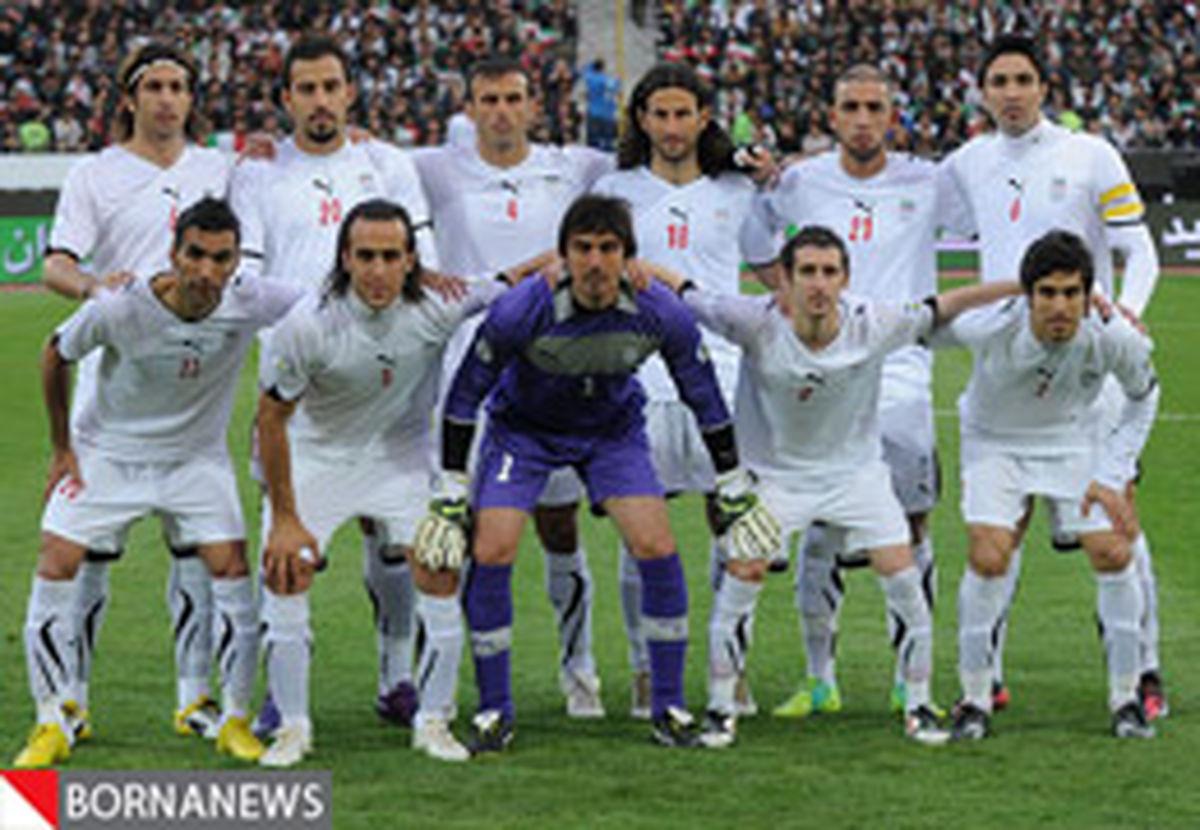 برگزاری مراسم معرفی اسپانسر تیم ملی فوتبال ایران