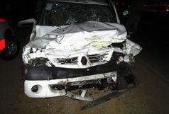تصادف مرگبار کامیون در بزرگراه شهید بابایی