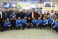 رد پای قزوینیها در طلایی شدن تیم کومیته در دبی