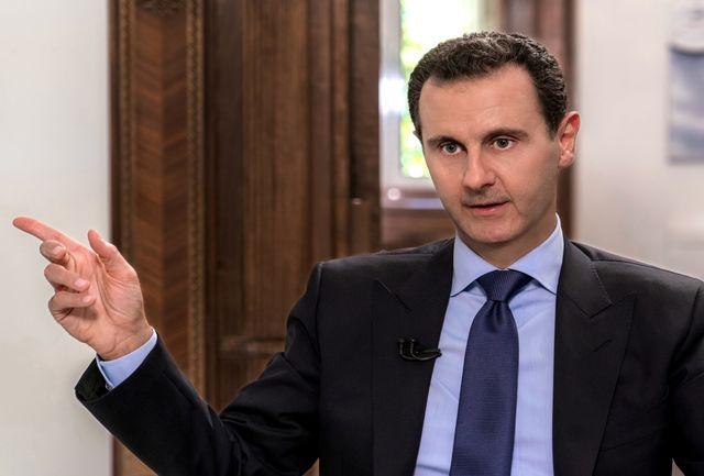 جنبش حزب الله به بشار اسد تبریک گفت