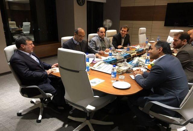 استاندار قزوین با مدیران عامل بانک ها دیدار کرد