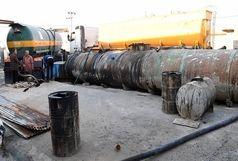 دستگیری ۴ قاچاقچی سوخت و کشف ۶۰ هزار لیتر نفت خام در اهواز