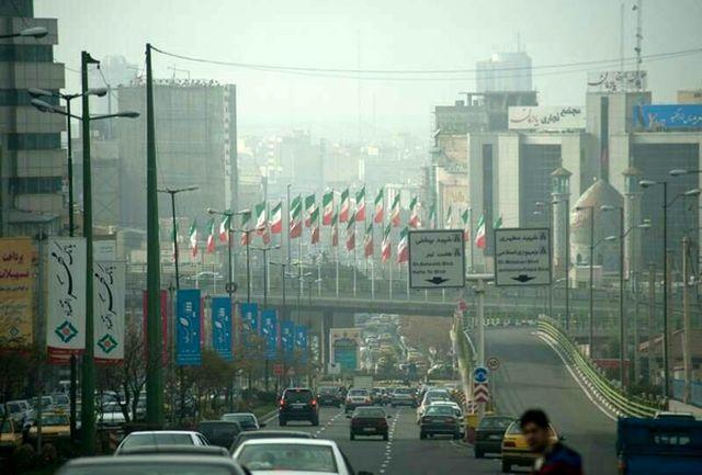 تهرانیها امروز هوای ناسالم تنفس میکنند