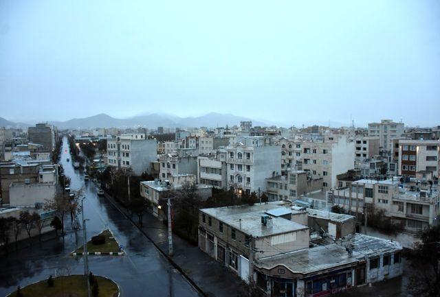 بارش برف و باران در استانهای شمالی و ورود سامانه جدید از چهارشنبه