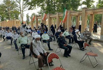 مراسم گرامیداشت عملیات مرصاد و سردار شهید میرزا محمد سلگی در شهرستان نهاوند