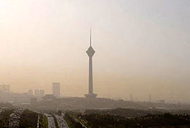 افزایش غلظت آلاینده ازن در برخی مناطق تهران