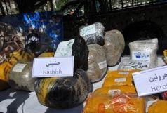 کشف 19 تن و 640 کیلوگرم مواد مخدر در استان بوشهر