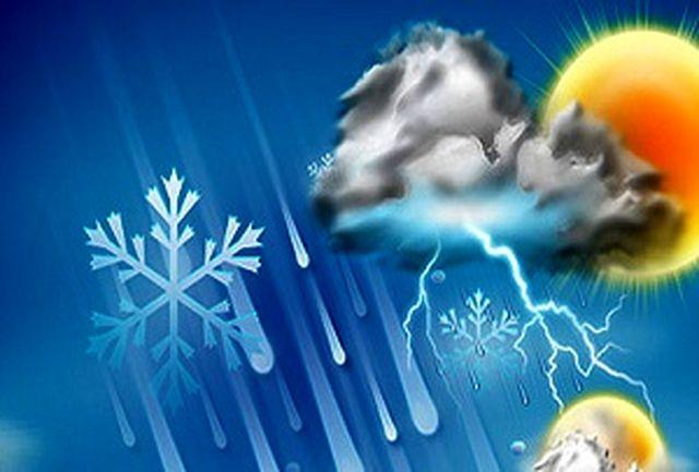 تهران از امروز ابری و بارانی میشود