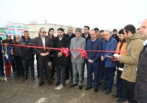 افتتاح پروژه ۱۵۴ کیلومتر روکش آسفالت محورهای ارتباطی استان