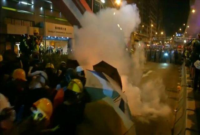 درگیری در هنگ کنگ بالا گرفت