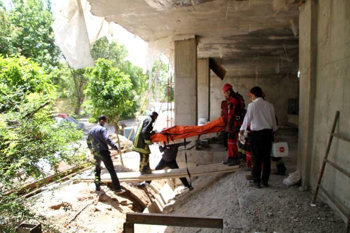 سقوط یک قطعه آهن جان کارگر 36 ساله را گرفت
