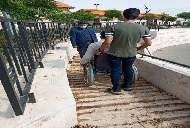 مناسب سازی ، مشارکت و همکاری ارگانها نقش عمده ای در رفع مشکلات معلولین دارد