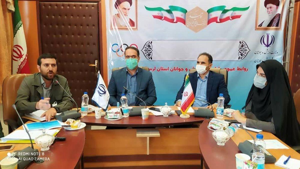 کمیته ورزش وجوانان لرستان موفق ترین کمیته برگزاری کنگره یادواره 6300 شهید استان  است